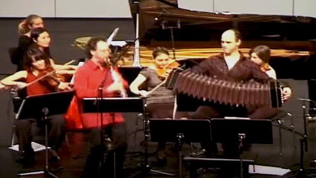 Chen's Tango Marcelo Nisinman , 1st movement. Chen Halevi, Clarinet & Marcelo Nisinman, Bandoneon