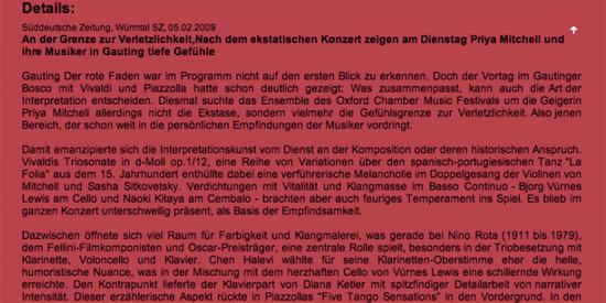 Press Marcelo Nisinman Sueddeutsche Zeitung, Germany