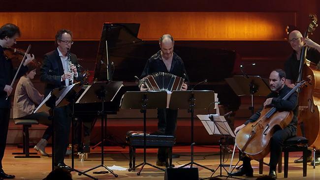 """East Tango"" Marcelo Nisinman, for Violin & Tango Quartet"