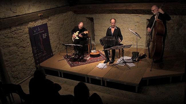 Marcelo Nisinman Trio, Adagio in A moll von Johann Sebastian Bach